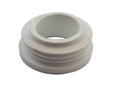 Oracstar Toilet Internal Flush Pipe Connector White 1 Pk