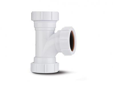 Polypipe Compression Waste Equal Tee